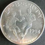 ワールドカップ1ドル銀貨 西暦1994年