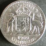 オーストラリア銀貨 西暦1962年