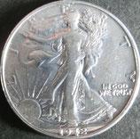 ウォーキング・リバティ銀貨 西暦1942年