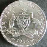 オーストラリア銀貨 西暦1935年Φ29