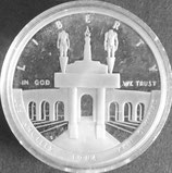 オリンピックプルーフ銀貨