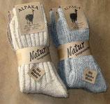Socken mit Alpaka-Wolle Gr.39-42