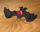 Fledermaus, schwarz