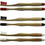 unicorn® Zahnbürsten aus Bambus