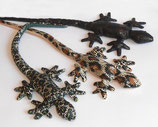 Gecko langschwanz schwarz