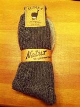 Socken mit Alpaka in Übergrößen