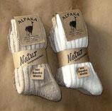 Socken mit Alpaka-Wolle Gr.35-38