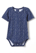 antebies Bio Baby Body Navy Bubble