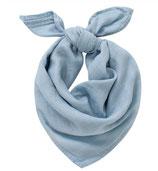 Halstuch aus Musselin Babyblau