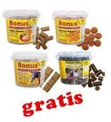 Bonus-Snacks von Marstall