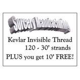 Fil invisible Kevlar 40'