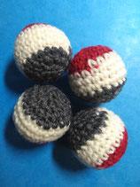 Balles Crochetées 3 Couleurs
