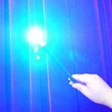 Baguette Super D'lite Bleu - rechargeable
