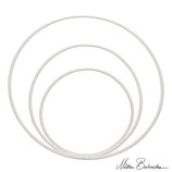Hula Hoop Blanc 92 cm