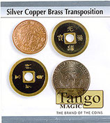 Silver Copper Brass Transposition