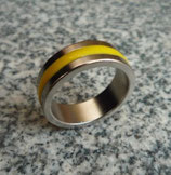 Magnetic Engraved PK Ring Jaune