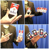 Multiplying Cigarettes Case & Match Box