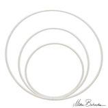 Hula Hoop Blanc 70 cm