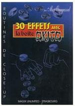 30 Effets avec la boite Okito