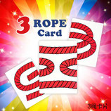 3 Rope Card