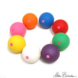 Balles Bubble Peach 63 mm