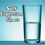 Self Explosion Glass