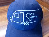 Leni & Toni Camping-Cap | PERSONALISIERT | für den oder die Fahrer/in eines Wohnwagen-Gespanns