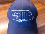 Leni & Toni Camping-Cap | PERSONALISIERT | für den oder die Beifahrer/in eines Wohnwagen-Gespanns ♥