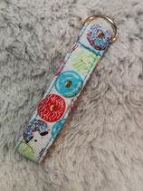 Schlüsselanhänger Donuts multicolor