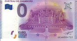 Billet touristique 0€ Château de Chambord Vue aérienne 2015