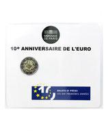 2 euros 10 ans de l'euro BU 2012