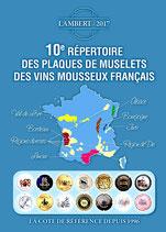 10 éme répertoire Lambert des capsules de Vins mousseux