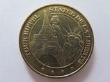 Médaille MDP Paris. Les bateaux mouches. Tour Eiffel. Statue de la liberté 2011