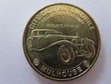 Médaille MDP Mulhouse. Cité de l'automobile. Bugatti royale 2008