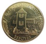 Médaille MDP Essoyes Maison de Renoir 2017