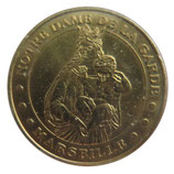 Médaille MDP Marseille Notre Dame de la Garde Vierge 2006