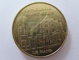 Médaille MDP  Le Mans. Cathédrale Saint Julien. Vue d'ensemble 2009