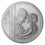 10 euros argent Mère Teresa 2010