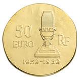 50 euros Charles de Gaulle 2015 en or 1/4 oz