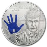 10 euros argent Yves Klein 2012