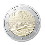 2 euros D-Day BE 2014