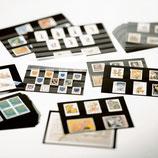 Cartes de classement noir PVC