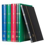 Classeur à bandes BASIC, Din A5, 16 ou 32 pages blanches ou noir articulation rigide.
