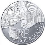 10 euros argent Bourgogne 2011