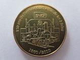 Médaille MDP Limoges. 150 ans de l'arrivée du chemin de fer à Brive 1860-2010. 2010