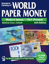 World Paper Money depuis 1961 24th édition 2019