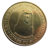 Médaille MDP Corse du Sud Centre préhistorique de Filitosa Statue Menhir IX 2005