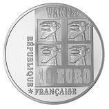 10 euros argent Lucky Luke 2009