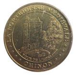 Médaille MDP Chinon Forteresse médiévale 2005