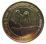 Médaille MDP Asie Perroquet club L'Electus Roratus 2010
